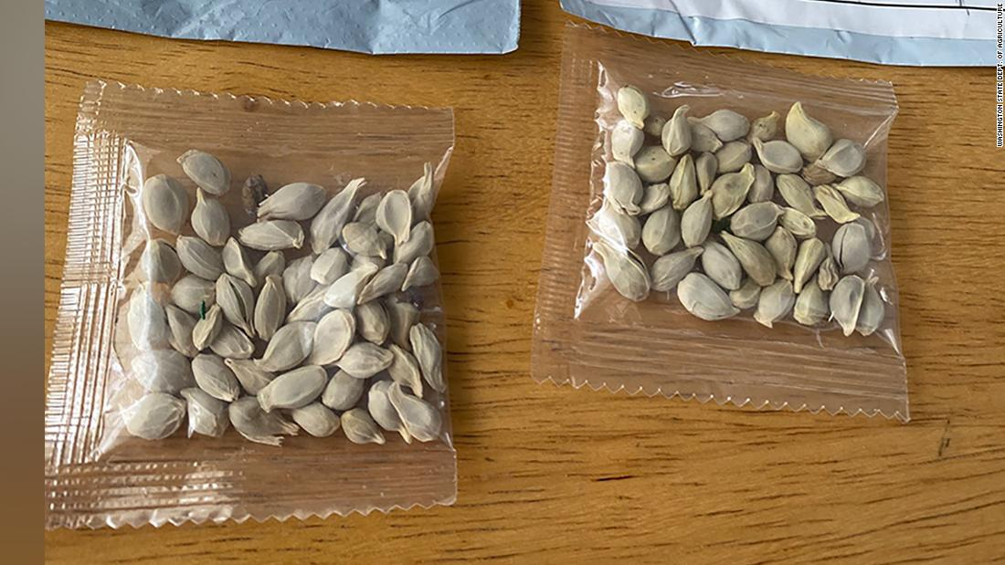 States are warning people about suspicious packages of seeds that appear to be from China
