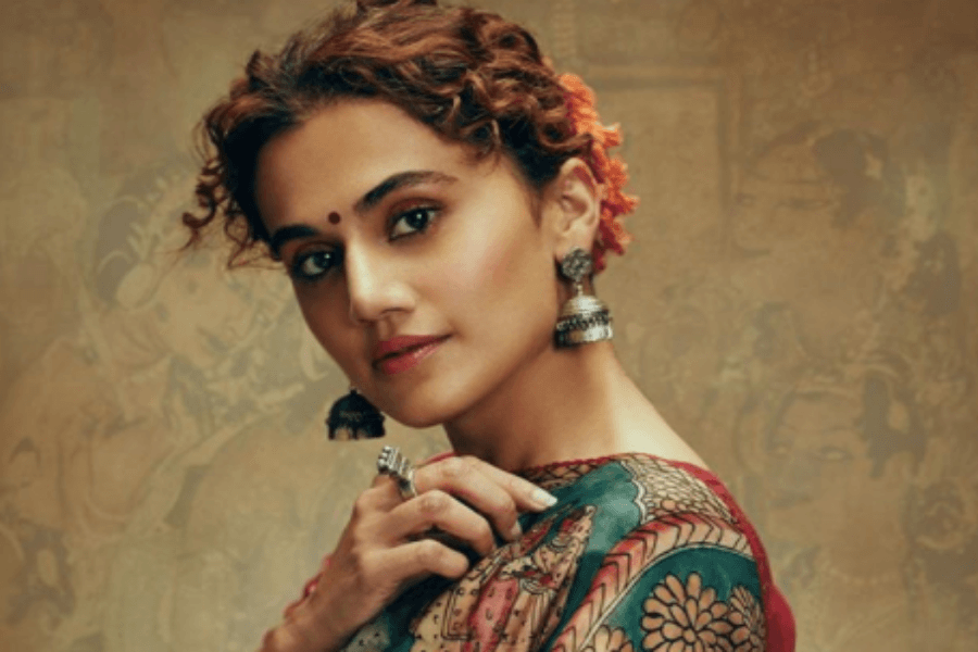 Taapsee Pannu reacts to Kangana