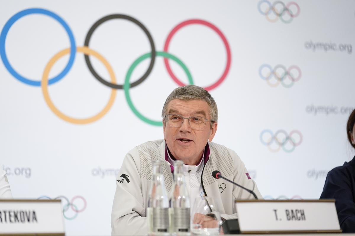 Bach as IOC president