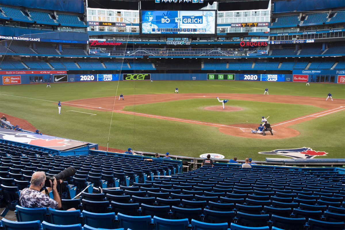 Toronto Blue Jays not allowed to play games in Canada