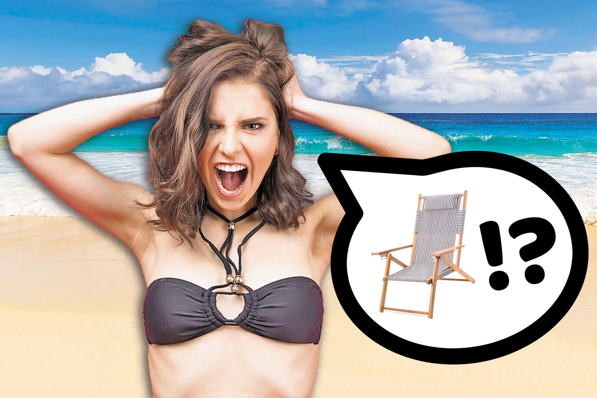 Why finding a beach chair this summer is so hard
