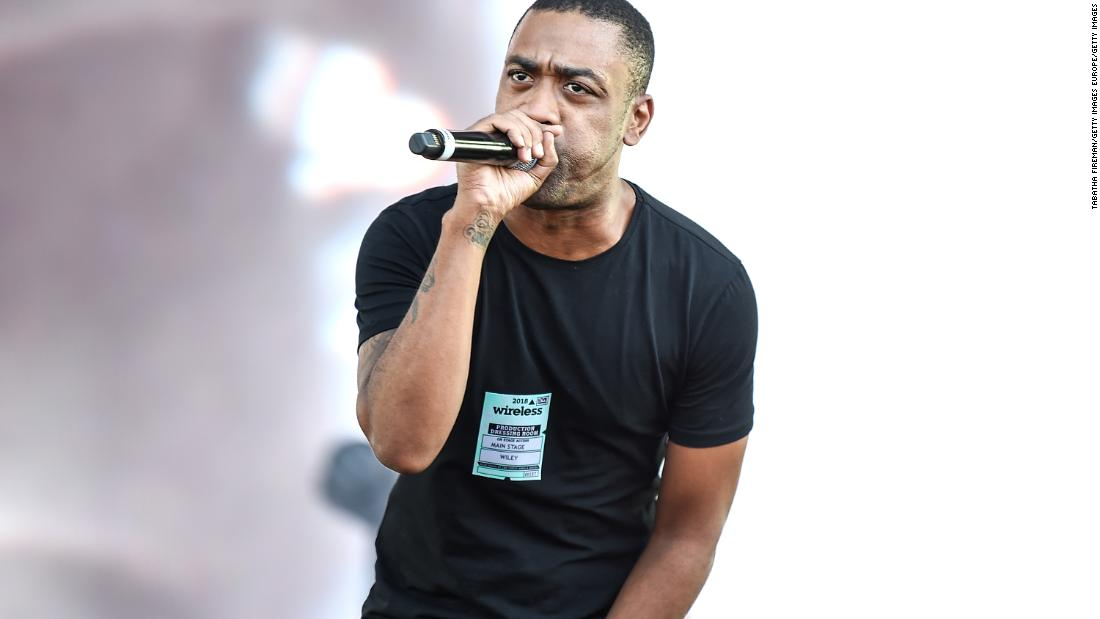 Wiley: Police review reports of anti-Semitic posts from British rapper