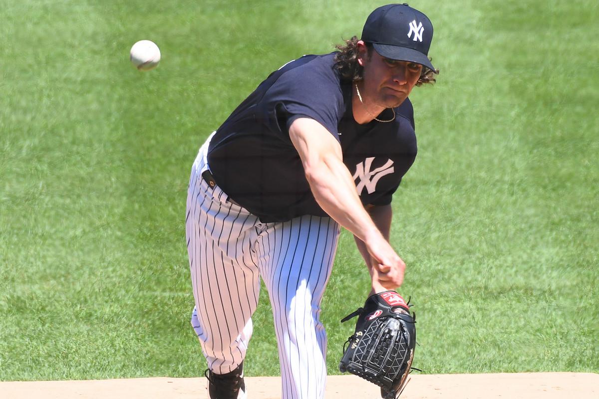 Yankees' Gerrit Cole lauds Gary Sanchez as domination grows