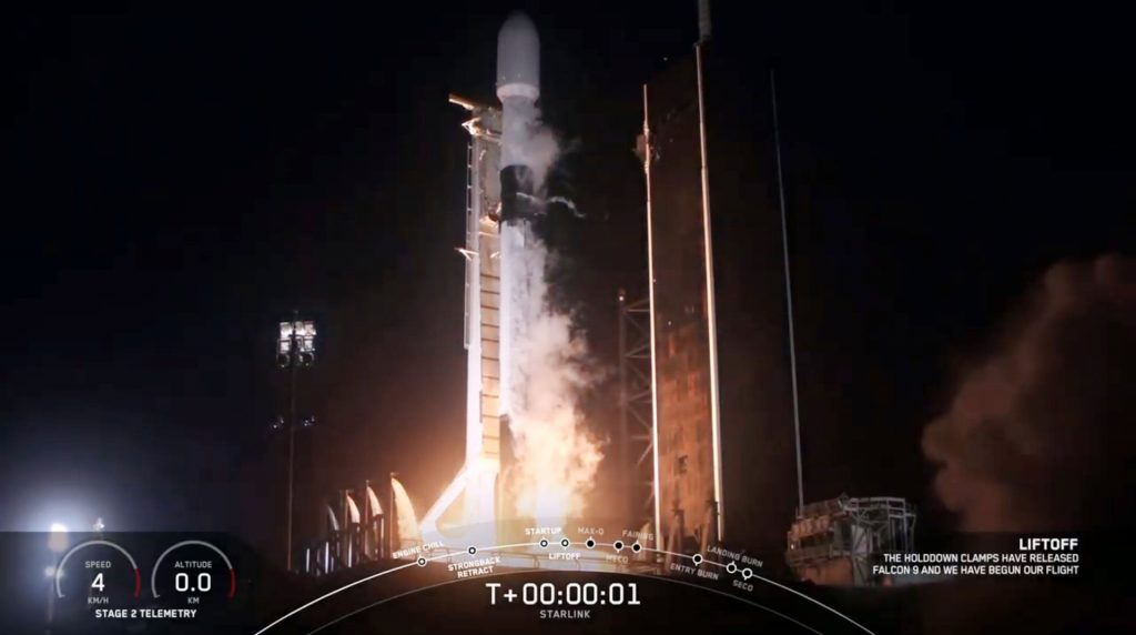 SpaceX successfully launches 57 more satellites into the orbit