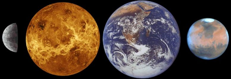 Comparison of Terrestrial Planets
