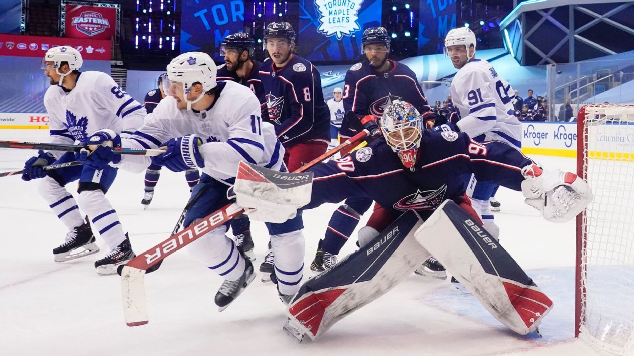 NHL Playoffs Daily 2020 - Win or go home for Toronto Maple Leafs, Columbus Blue Jackets