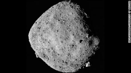A NASA mission's delicate dance to collect samples from a rugged asteroid