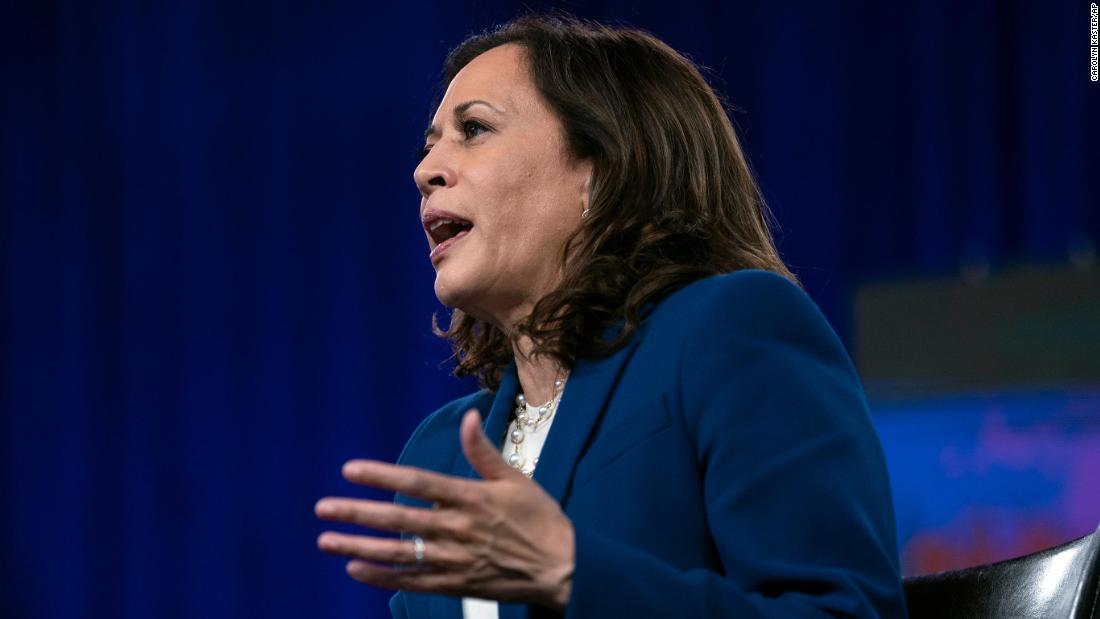 Kamala Harris responds to Trump's birther attacks: 'They're going to engage in lies'