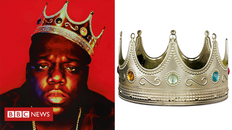 Notorious B.I.G. crown and Tupac love letters up for auction