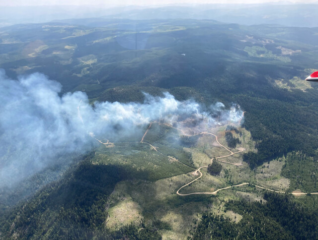 43 properties along Hwy 5A north of Princeton on evacuation alert - Penticton News