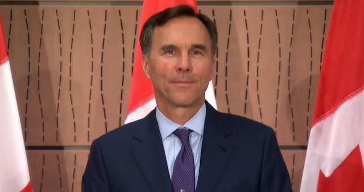 Bill Morneau steps down as finance minister - National