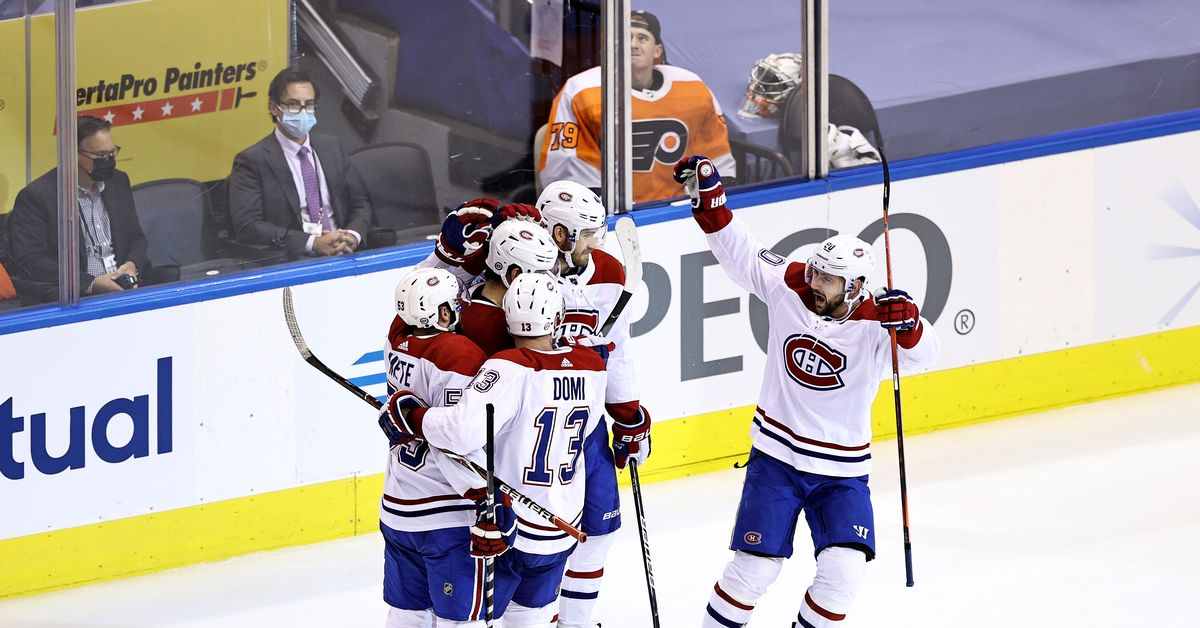 Canadiens @ Flyers Top Six Minutes: Habs do the flying