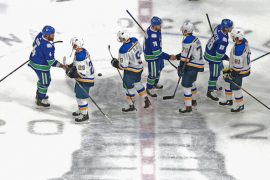 Canucks eliminate favoured Blues in Stanley Cup playoffs - Sports