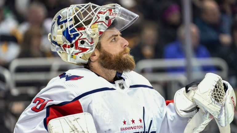 Capitals' Braden Holtby, coach Todd Reirden address uncertainty after early playoff exit