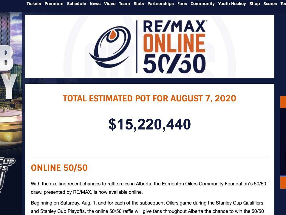 'Definitely a shock': Oilers 50/50-ticket buyers charged multiple times, raffle draw postponed