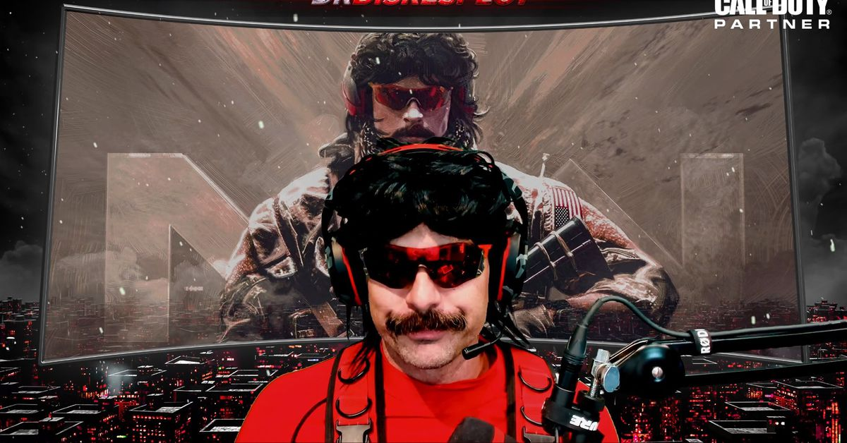 DrDisrespect YouTube stream goes live for the first time as he returns from Twitch ban
