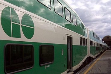 A GO Transit train