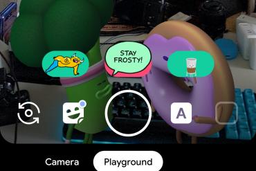 Google leaves Playground and its AR Sticker Playmoji behind