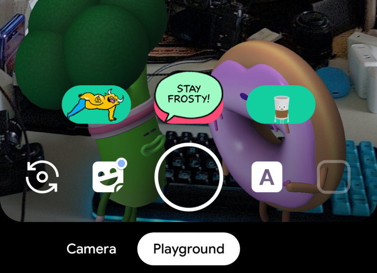 Google leaves Playground and its AR Sticker Playmoji behind