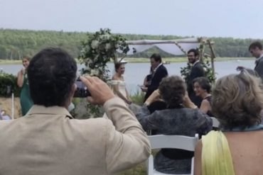 Groom jokes that 2020 'has not been the best year' – and then lightning strikes at his wedding