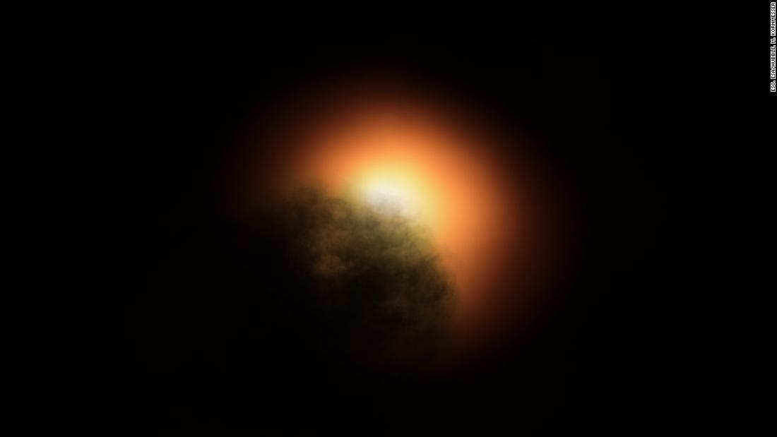 Hubble spies the culprit behind Betelgeuse star's dimming
