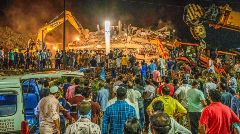India building collapse kills one, dozens feared trapped | News