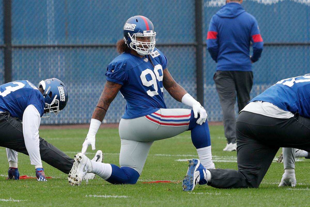 Leonard Williams on Giants injury list with hamstring issue