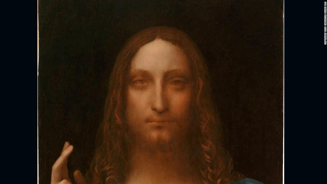 Leonardo da Vinci's rediscovered painting 'Salvator Mundi' is getting the Broadway treatment