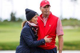 Matt Kuchar, longtime caddie John Wood split; Wife Sybi on bag at BMW