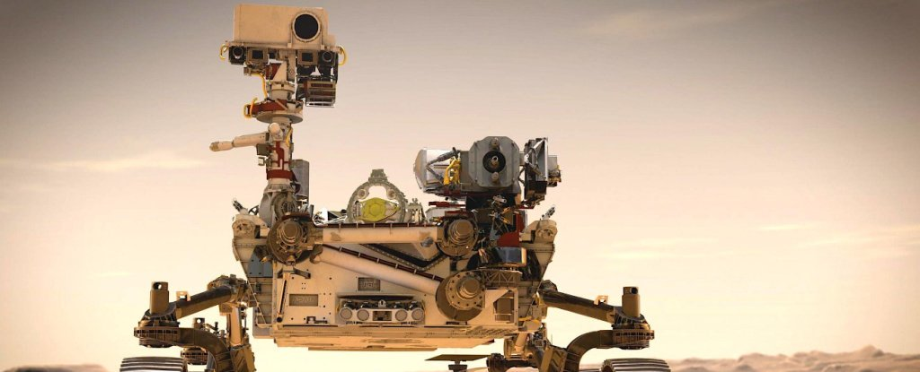 NASA's Rover Is Taking a Tree-Like Device That Converts CO2 Into Oxygen to Mars