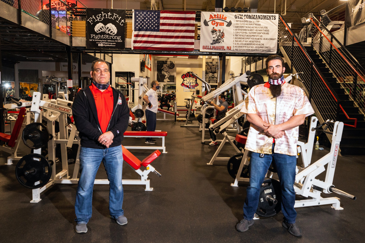 New Jersey gym owners defy COVID-19 lockdown again