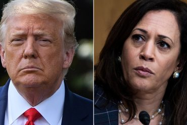 Fresh off convention, Trump launches baseless attack on Kamala Harris