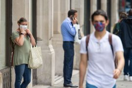 People 'more likely to take risks with social distancing if they're wearing a mask'