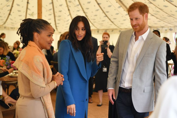 Prince Harry And Meghan Markle 'Converting' Guesthouse For Doria Ragland To Spend More Time There
