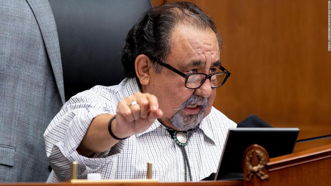 Raul Grijalva: Arizona Democratic congressman tests positive for Covid-19