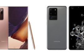 Galaxy Note20 Ultra vs Galaxy S20 Ultra