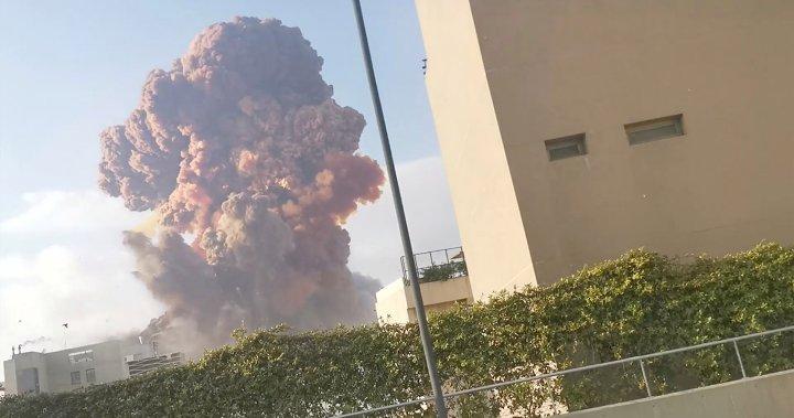 Massive explosion shakes Lebanon's capital, Beirut - National