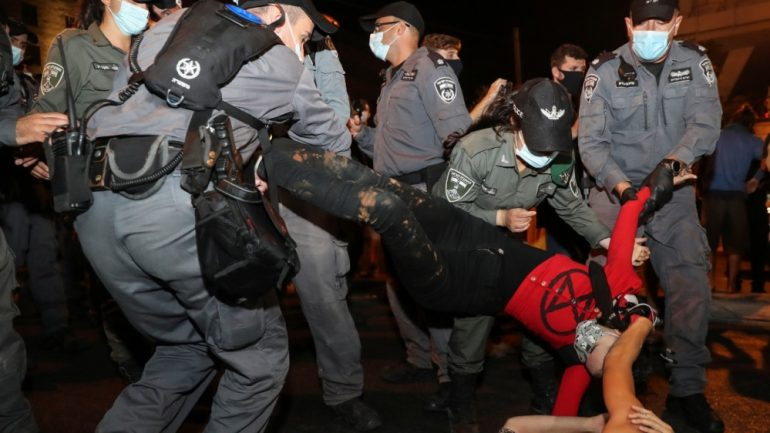Tens of thousands of anti-Netanyahu protesters hit Israel streets | Israel News