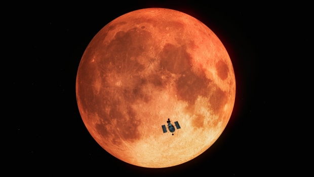 The Hubble Space Telescope has observed its first lunar eclipse