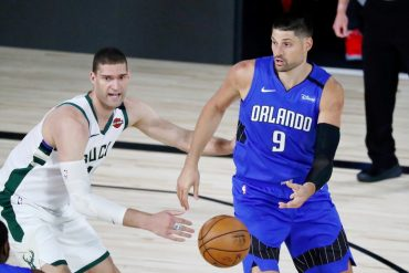 Vucevic scores 35 as Magic stun Bucks in Game 1
