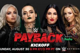 WWE Payback Pre-Show Match Announced
