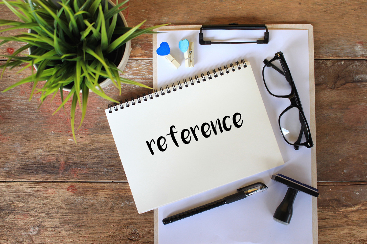 What do I need to know before giving my former colleagues a reference?