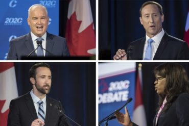 With all ballots cast in Conservative leadership race, new leader to inherit party at key moment