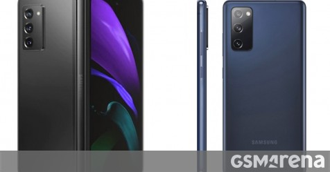 Samsung Galaxy Z Fold2 and S20 FE benchmarked with Snapdragon 865