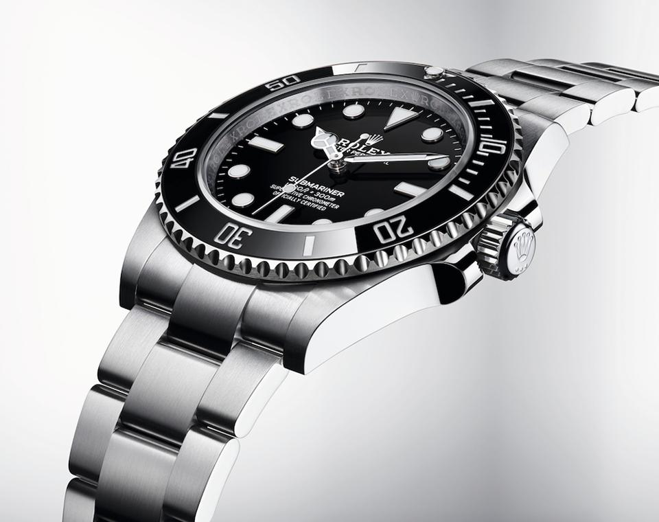 The new Rolex Submariner Ref. 124060, with larger case and updated movement and bracelet.