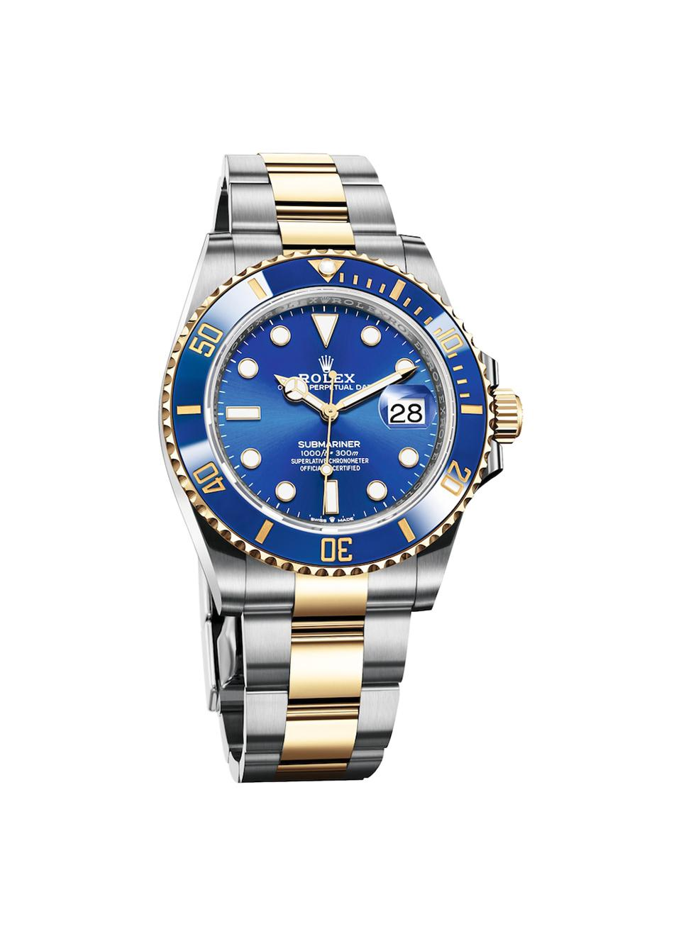 The new Rolex Submariner Date Ref. 126610.