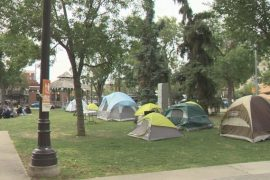 New homeless camp pops up in Old Strathcona as city wants end date for Rossdale's Camp Pekiwewin - Edmonton