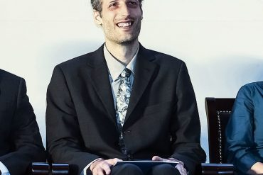 Martin Hairer (pictured in 2014), 44, from Imperial College London, hit the jackpot as winner of the 2021 Breakthrough prize for mathematics