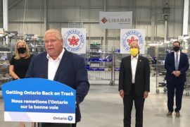 Ford announces $2.5M for Guelph's Linamar Corp. to help make ventilators