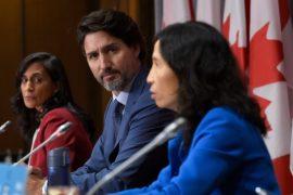 Trudeau announces vaccine pact as COVID-19 cases hit 150,000